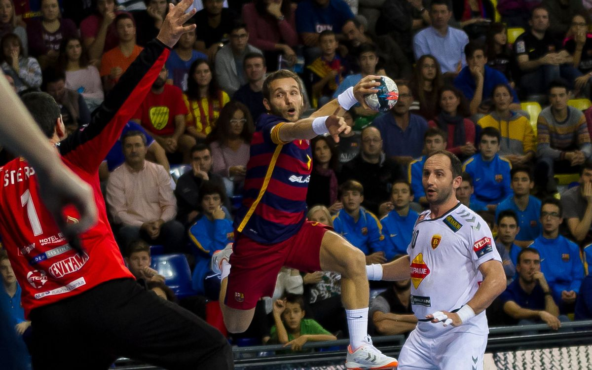 FC Barcelona Lassa – Montpellier HB: Win to stay in control in Europe (23-31)