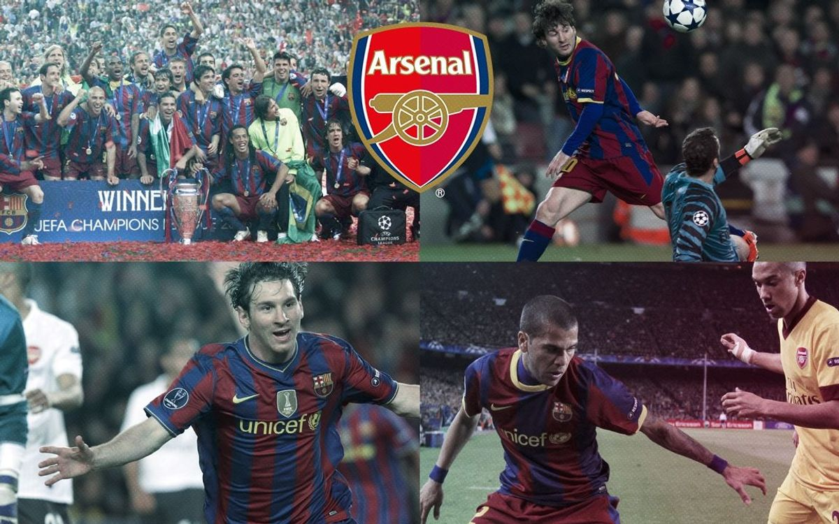 FC Barcelona to face Arsenal in Champions League last sixteen