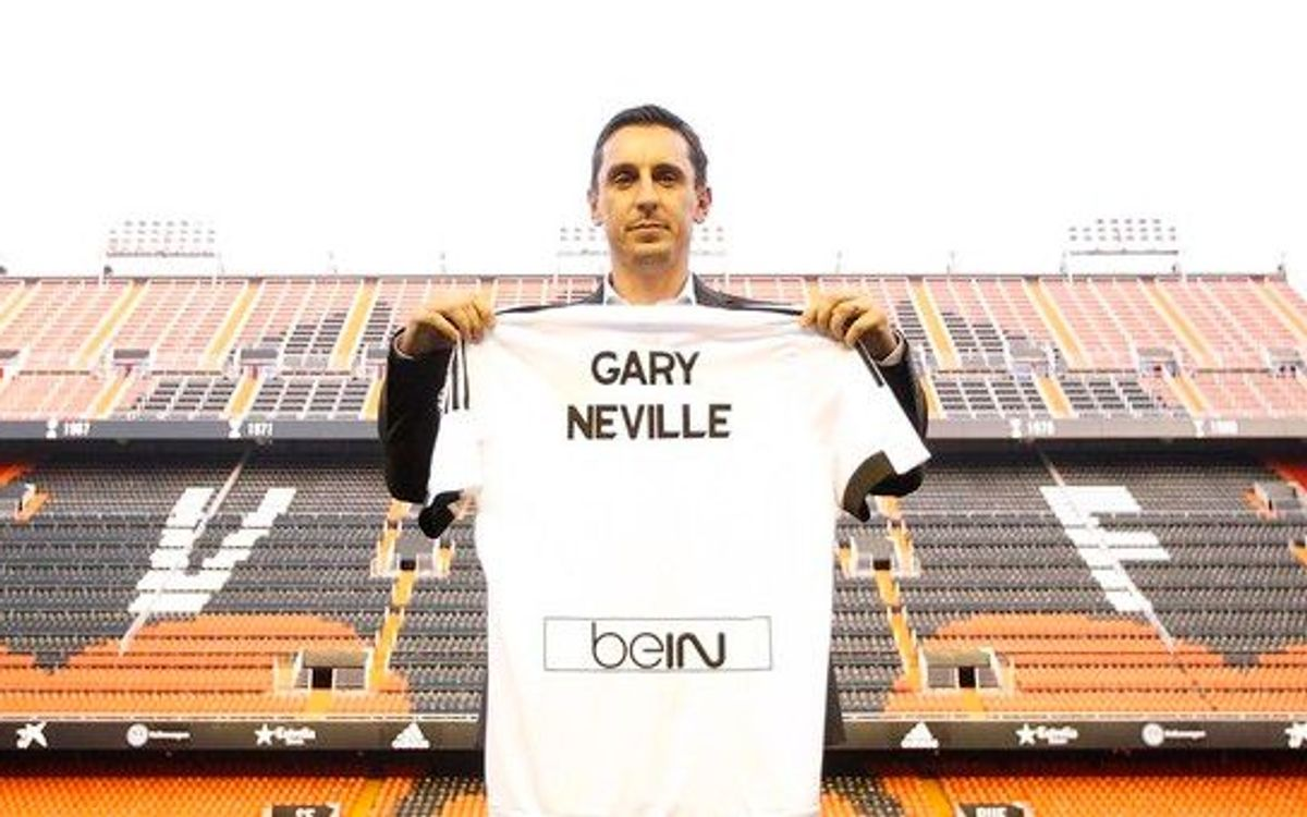 Gary Neville new Valencia boss ahead of FC Barcelona clash