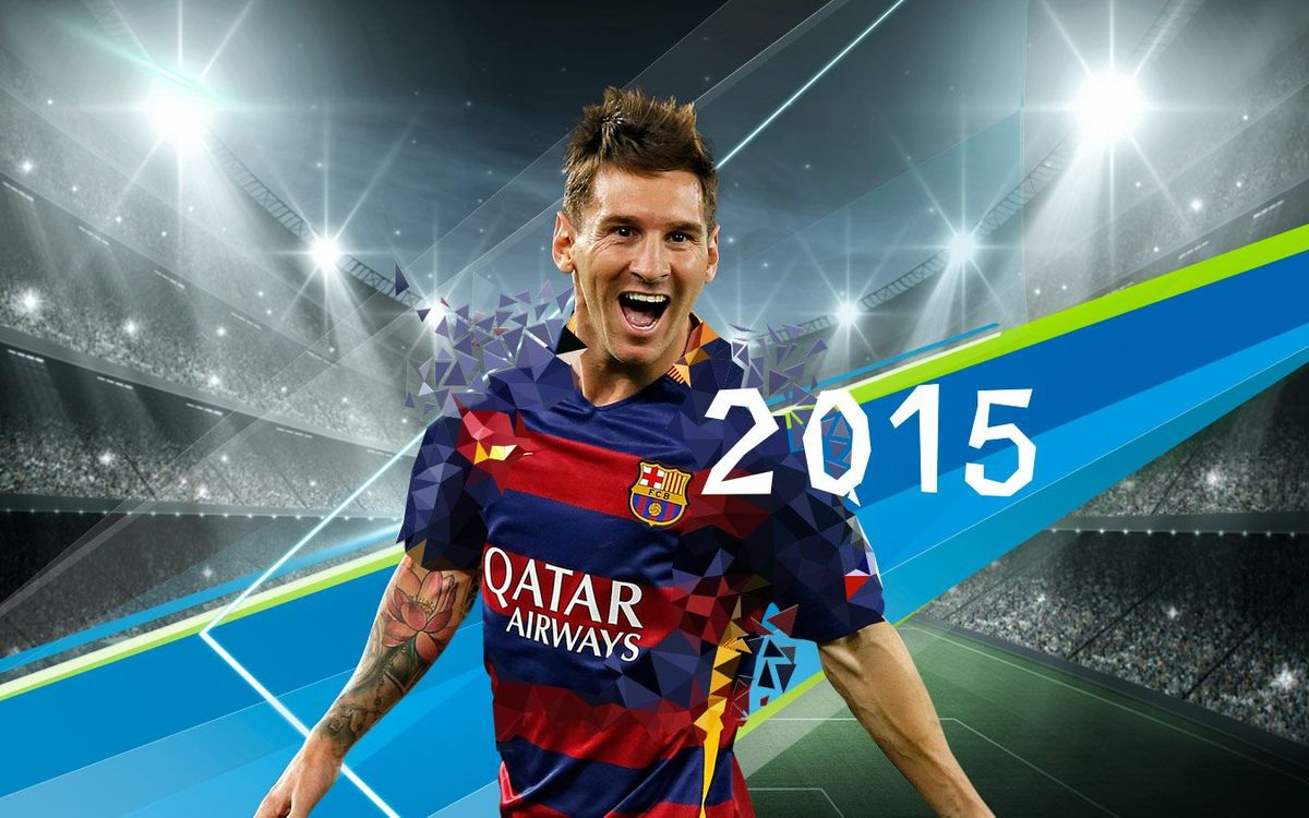 All of Messi's goals in 2015