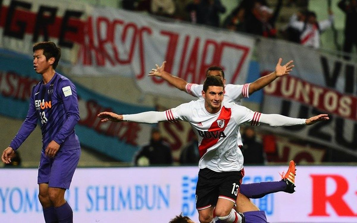 River Plate beat Sanfrecce Hiroshima 1-0 to reach the final of the Club World Cup