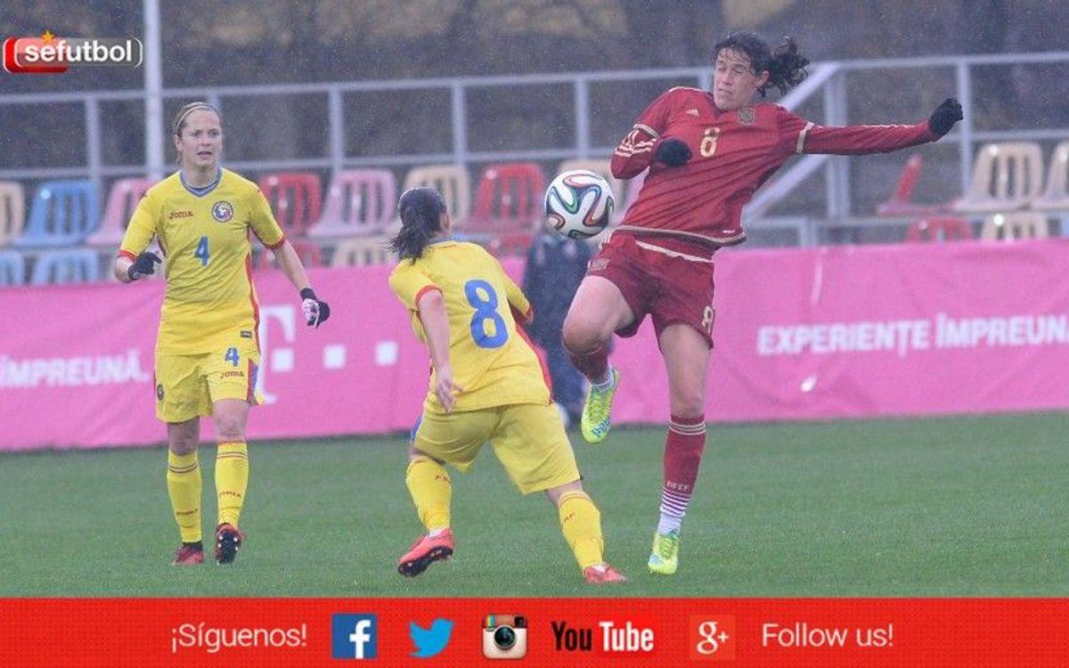 Espanya, amb sis culers, empata a Romania (0-0)