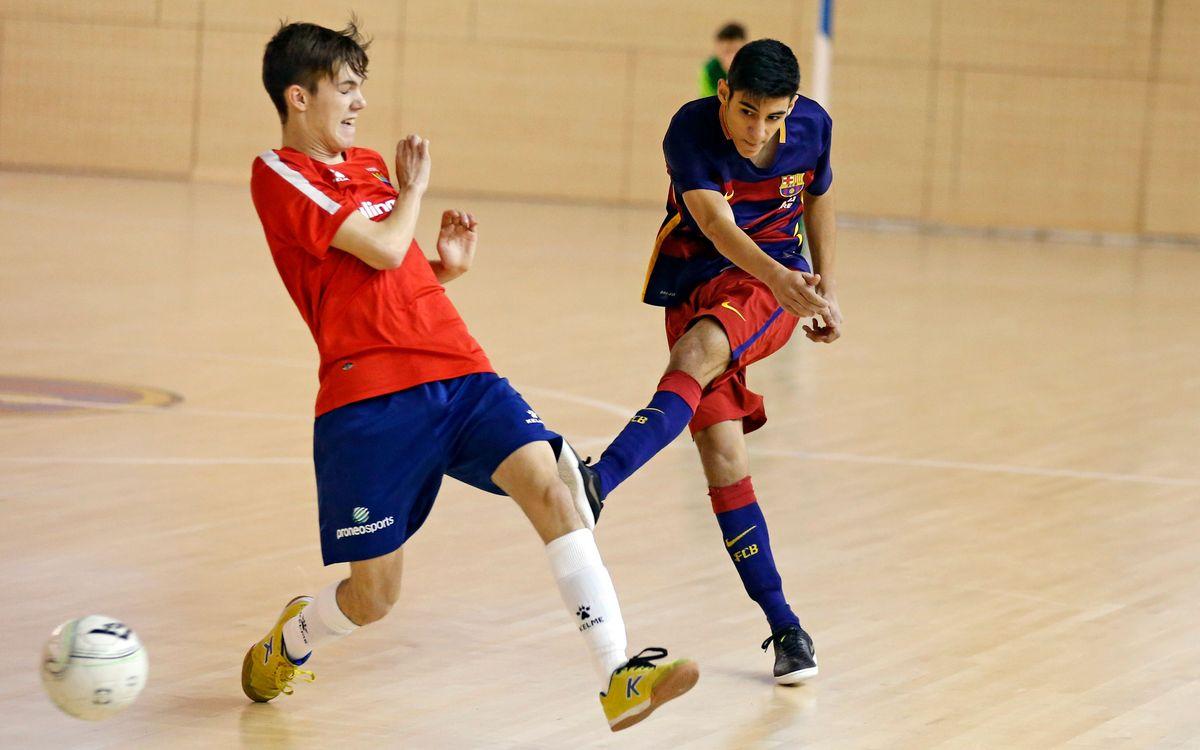 FC Barcelona 5 – Les Corts UBAE 2: Más cerca del título