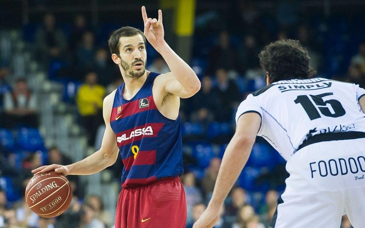 FC Barcelona Lassa top Dominion Bilbao Basket, 66-57