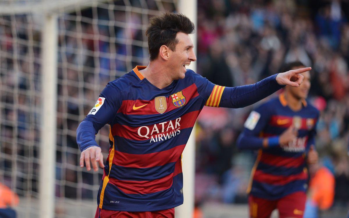 FC Barcelona – Granada CF: Messi y el Barça golean de nuevo (4-0)