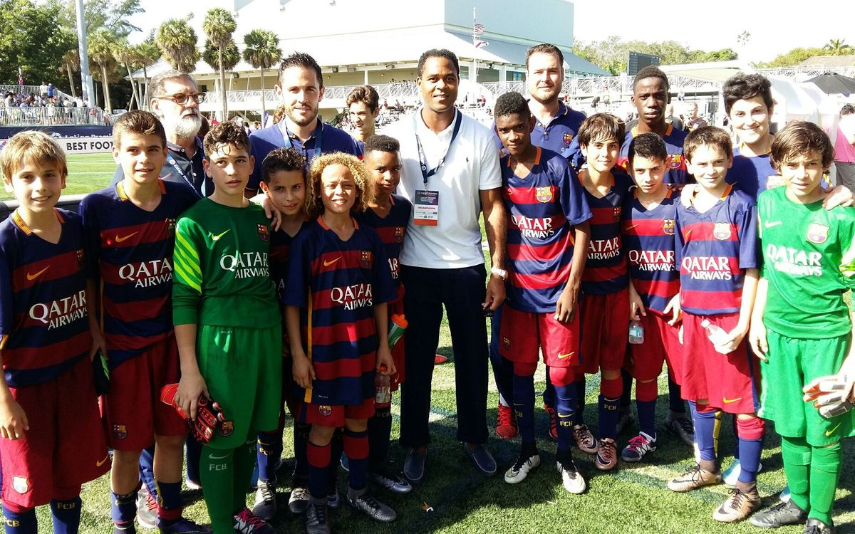 El Infantil B estará en las semifinales del torneo LaLiga Promises