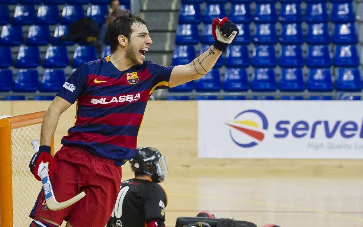 FC Barcelona Lassa – SHUM Balder Técnica: Tight win (6-4)