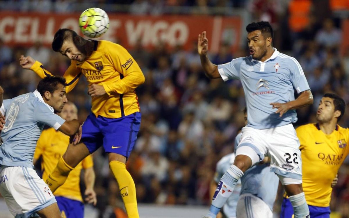 Celta always a challenge for Barça and Luis Enrique