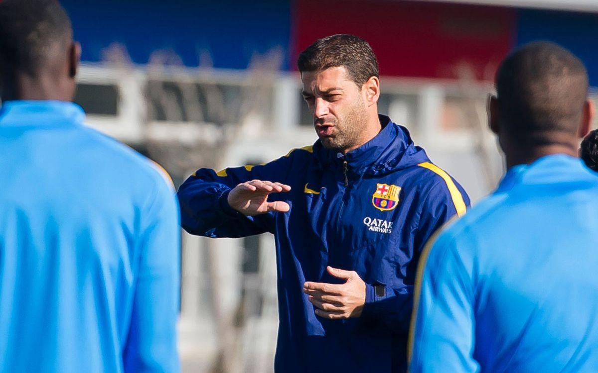 """Gerard López: """"Hem de continuar amb la bona ratxa"""""""
