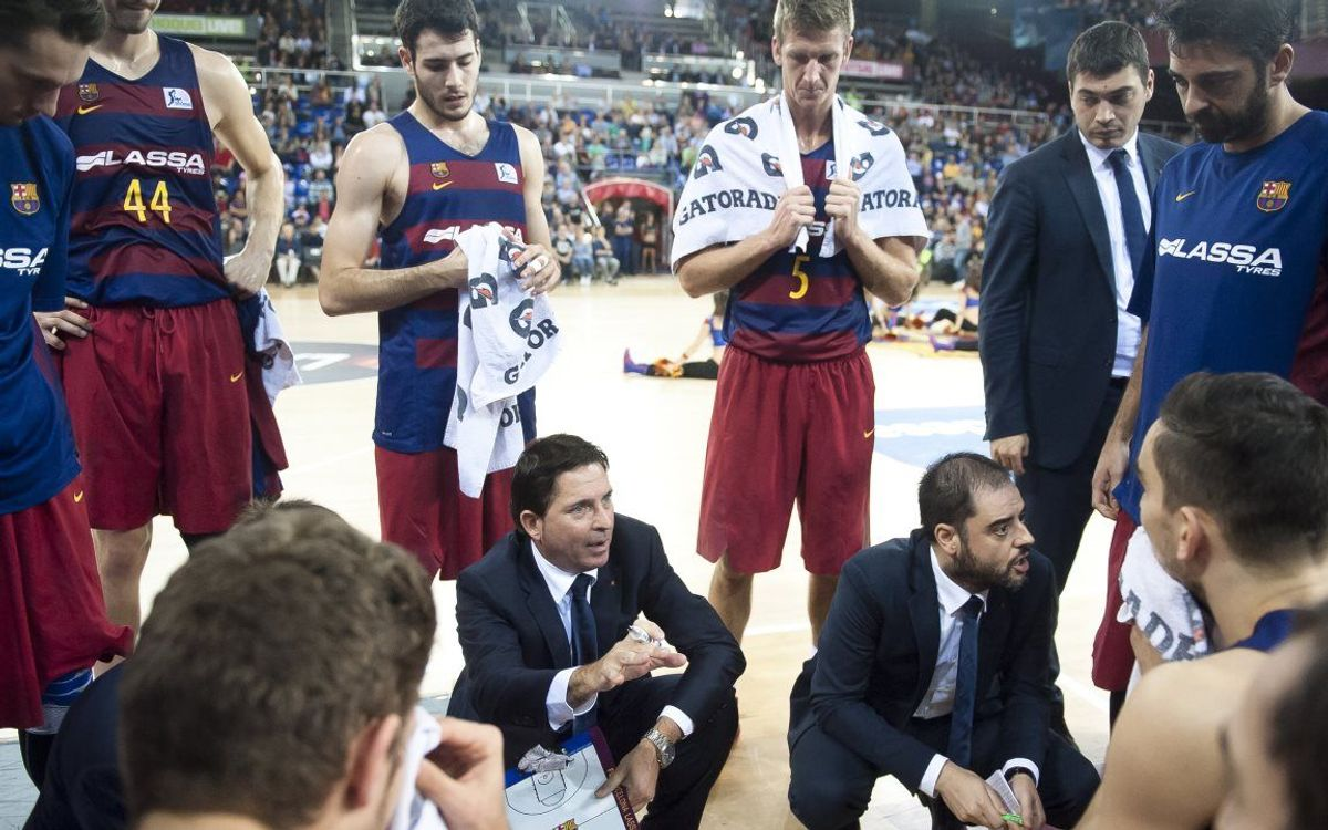 Xavi Pascual designat entrenador del mes de març per l'AEEB