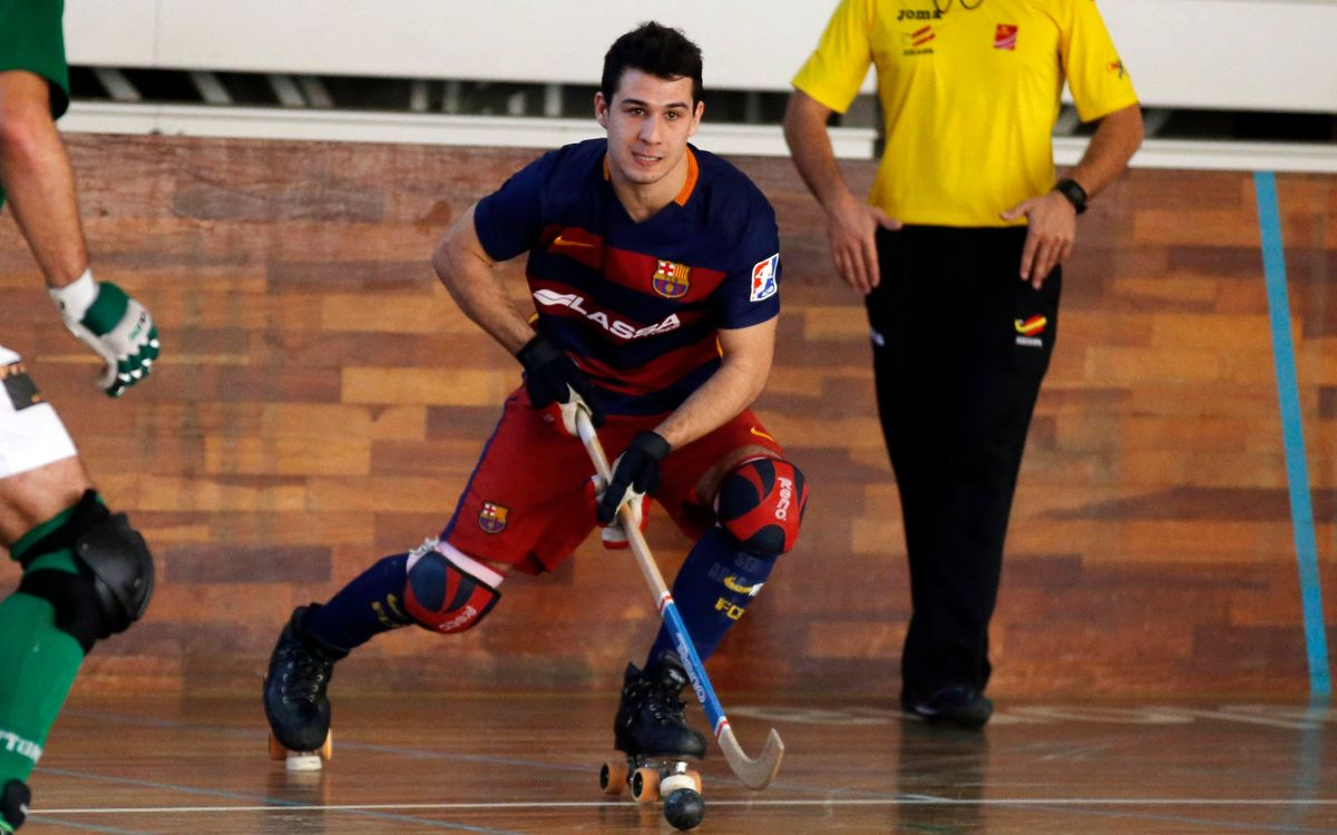 El Barça B de hockey patines, clasificado para la Copa de la Princesa