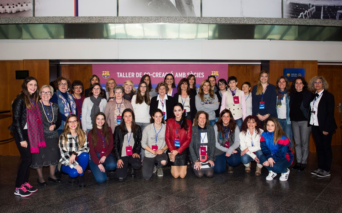 FC Barcelona organises first co-creation workshop with female members