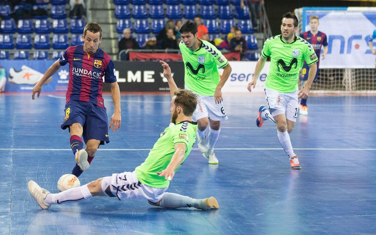 Barça Lassa – Movistar Inter: Duelo entre los dos mejores ataques