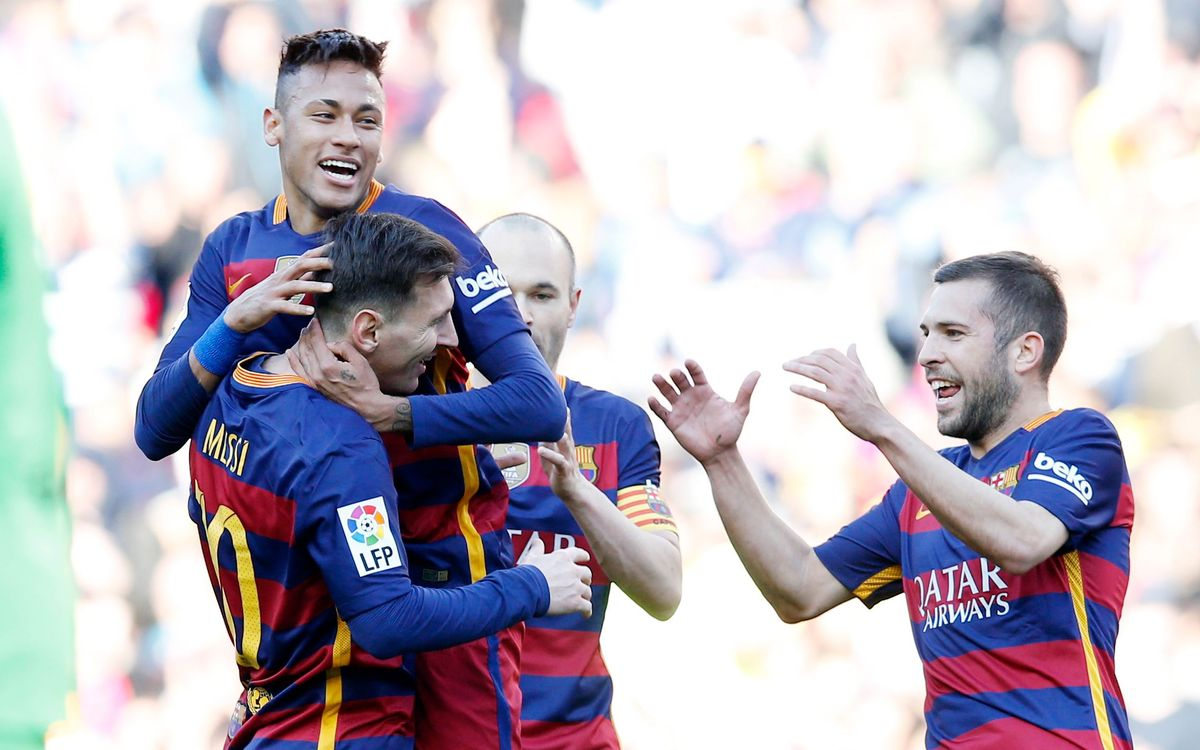 FC Barcelona run to a 6–0 landslide victory at Camp Nou
