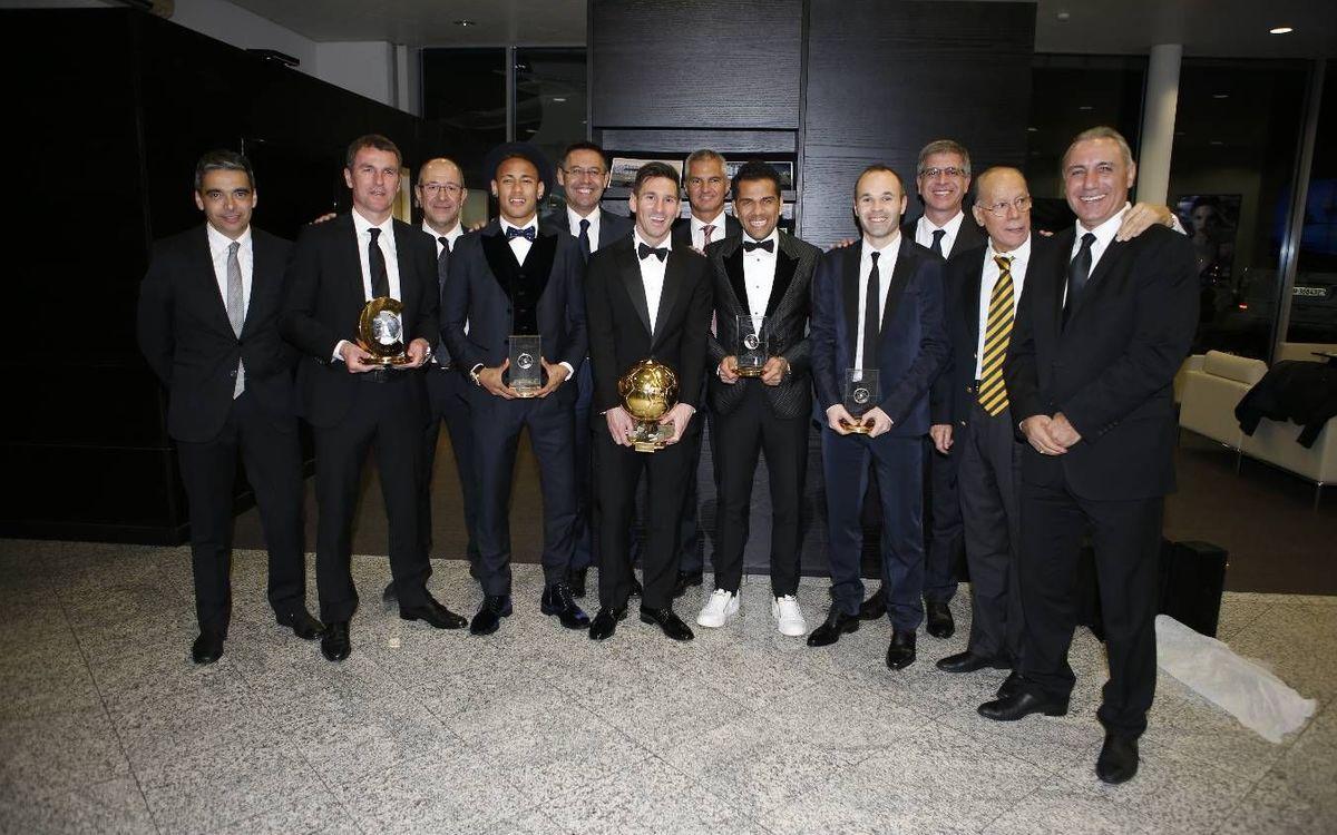 Las votaciones de la FIFA Balón de Oro 2015, al detalle