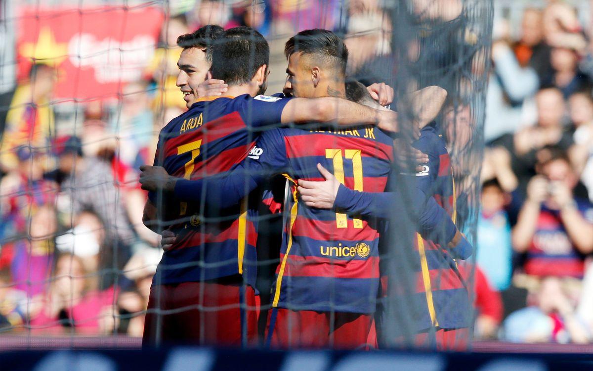 Goal-fests galore at Camp Nou
