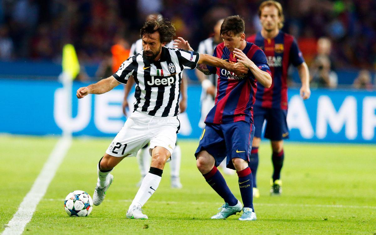 Andrea Pirlo et Frank Lampard encensent Leo Messi du FC Barcelone