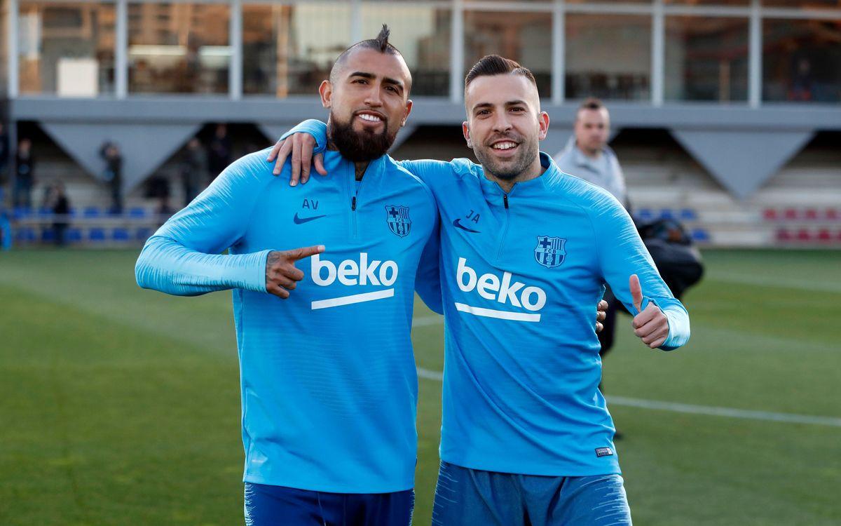 Le groupe du Barça convoqué pour Bernabéu