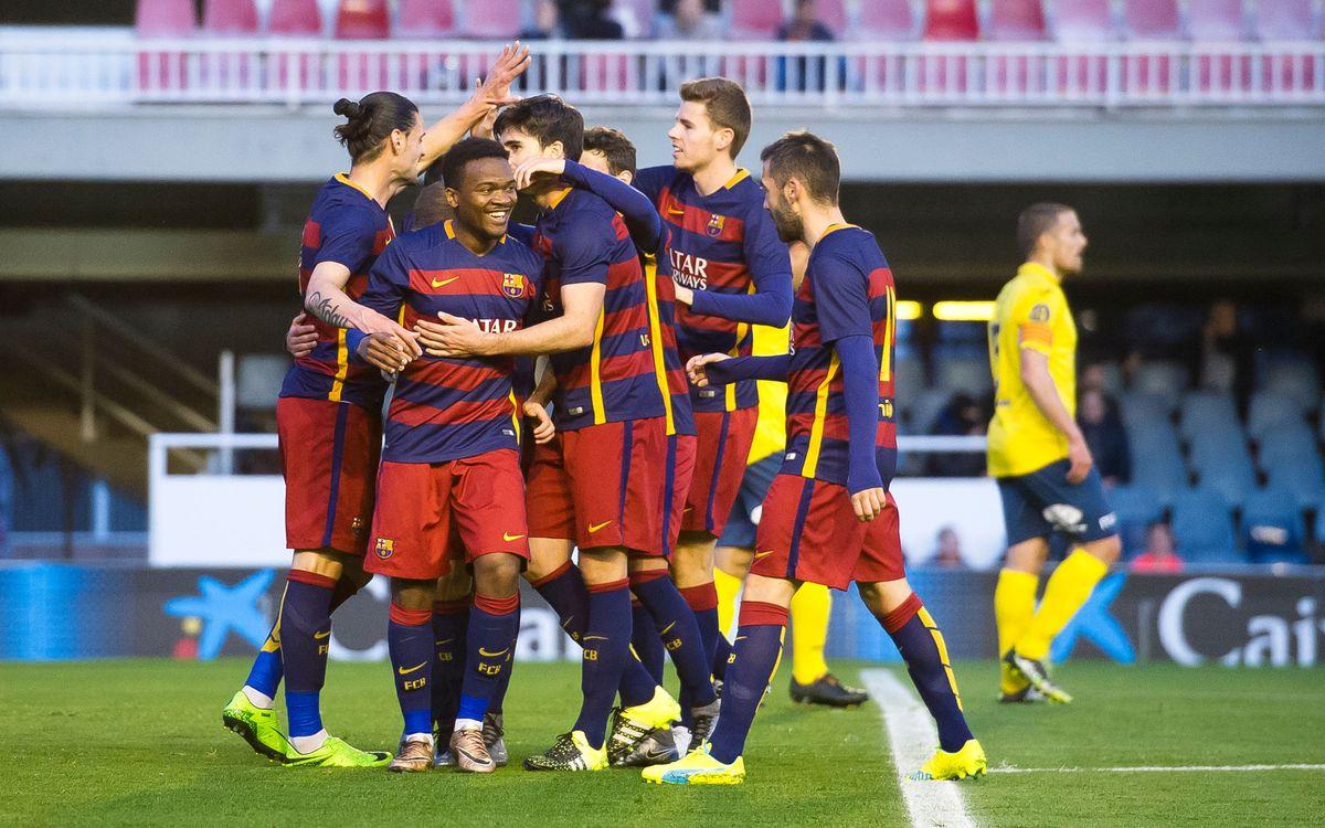 Los precedentes de la buena racha del Barça B
