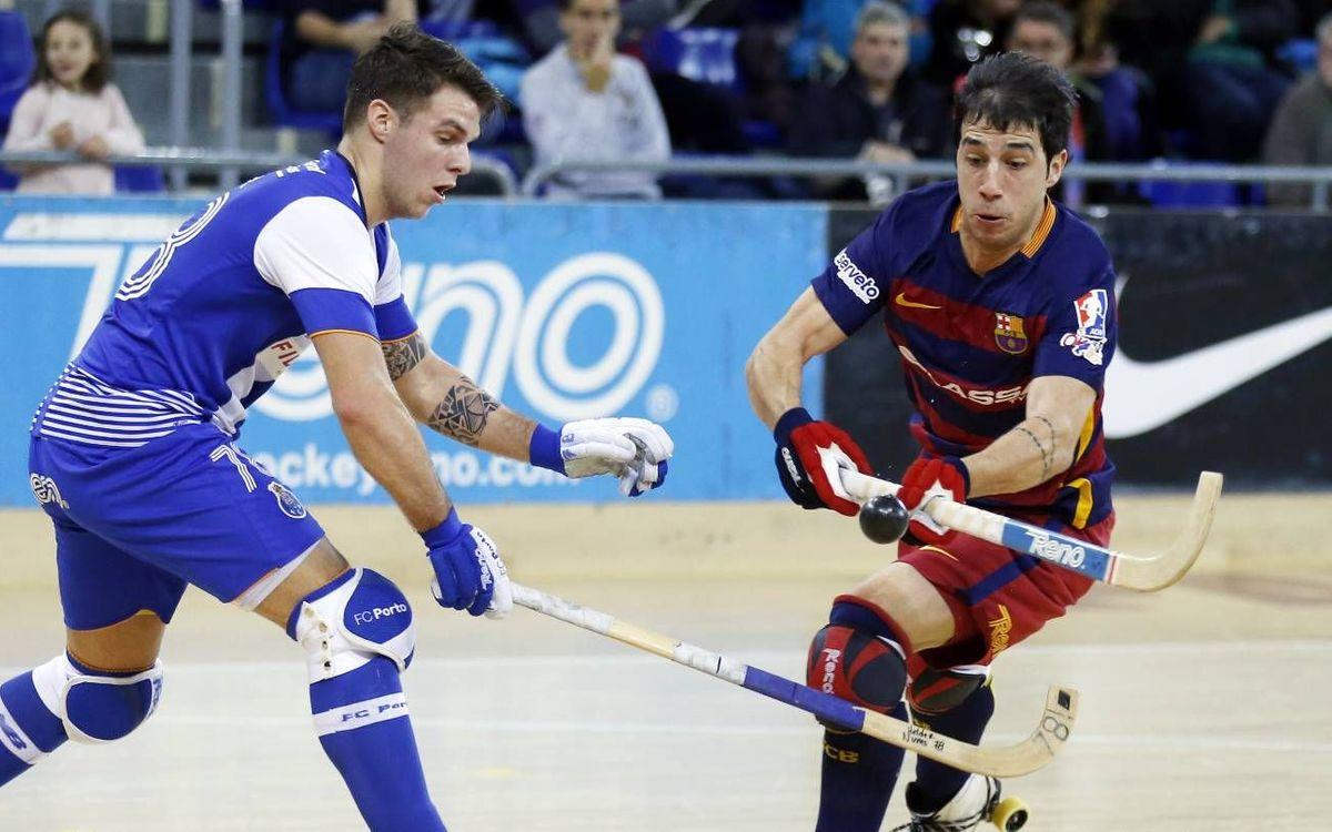 FC Barcelona Lassa v FC Porto Fidelidade: Six points off the lead (1-2)