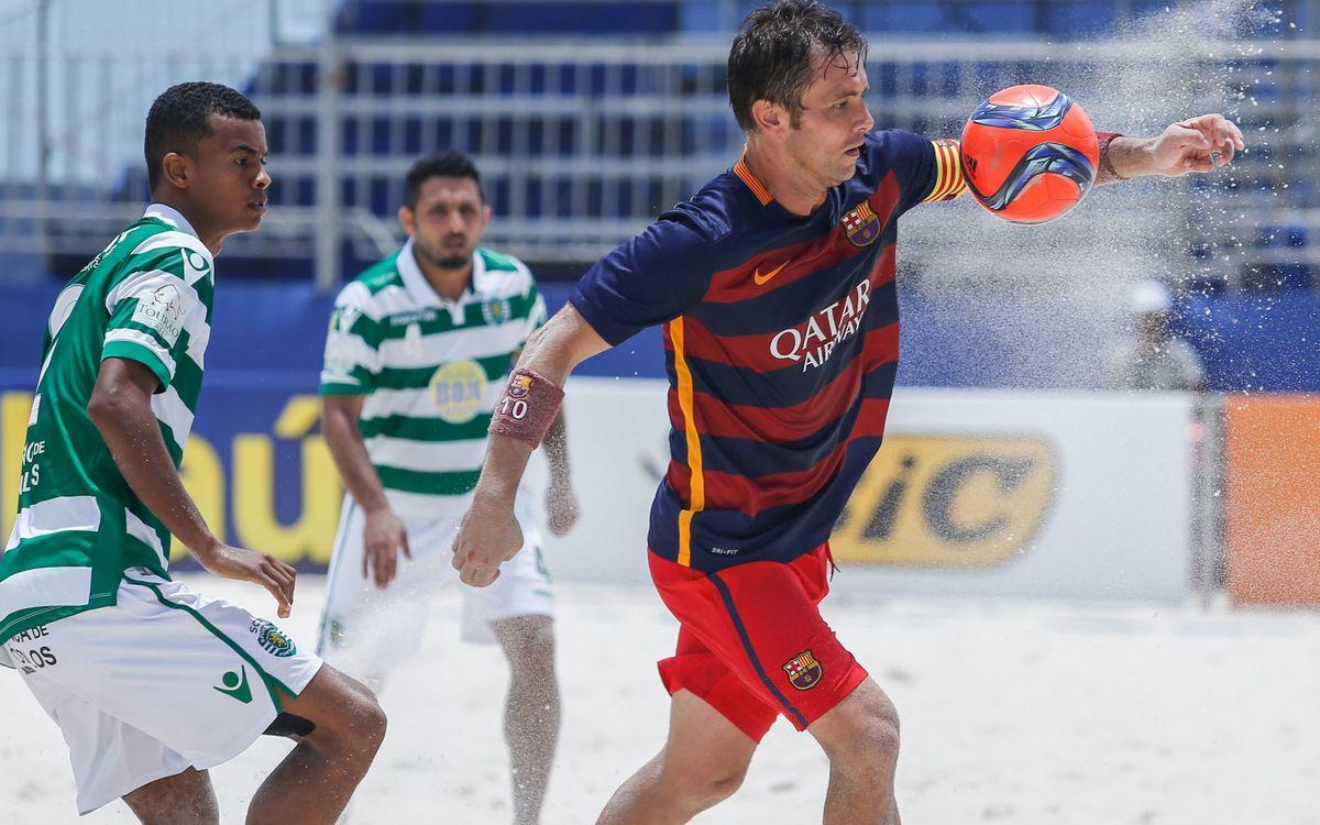 El Barça, entre los cuatro mejores en fútbol playa