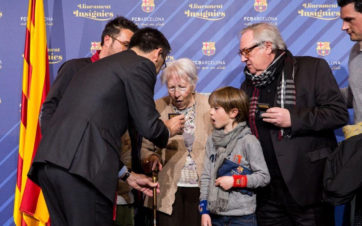 Nuevo acto de reconocimiento a los socios que llevan 50 años en el Club