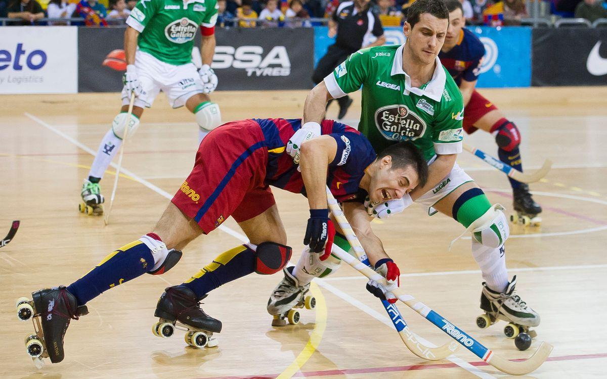 El Barça Lassa - Hockey Club Liceo de quarts de final, el 6 de març a les 11.30 hores