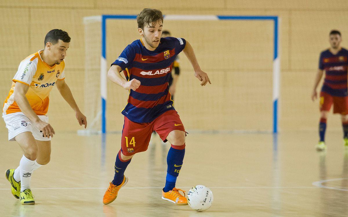 FC Barcelona Lassa B, 5 – Plásticos Romero Cartagena, 2. Tornen a guanyar