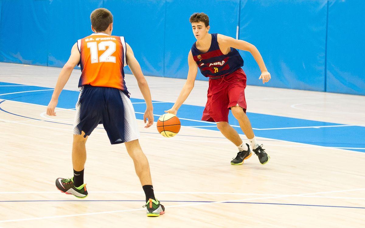 El repaso a la actualidad del baloncesto formativo azulgrana (semana 15)