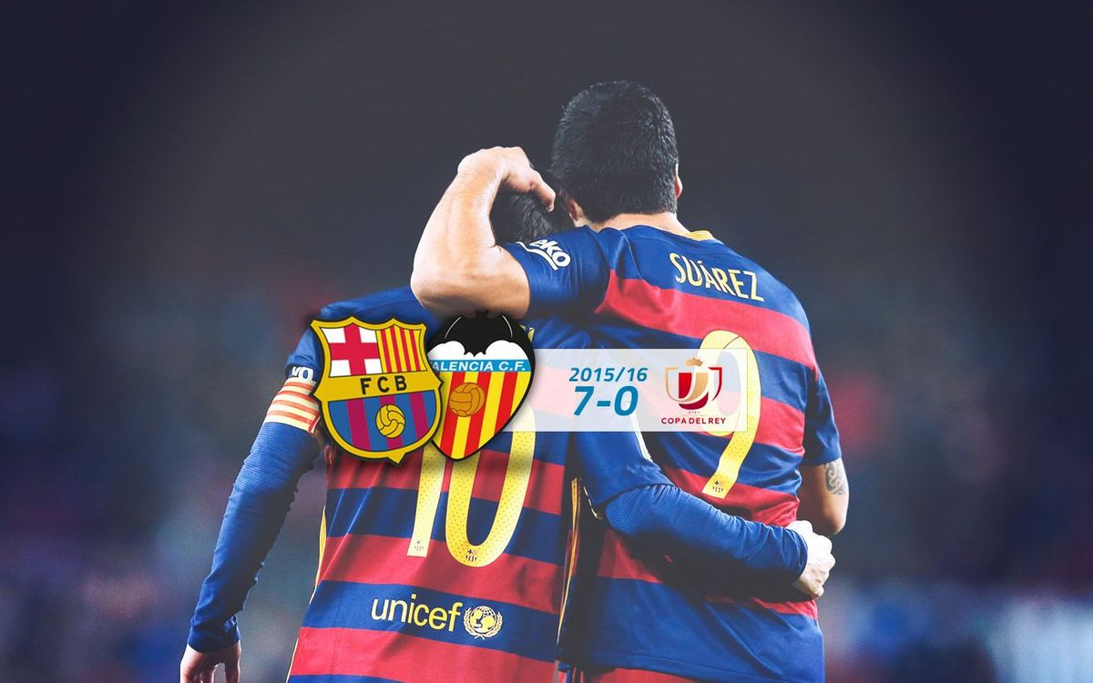 FC Barcelona: 7 - Valencia CF: 0