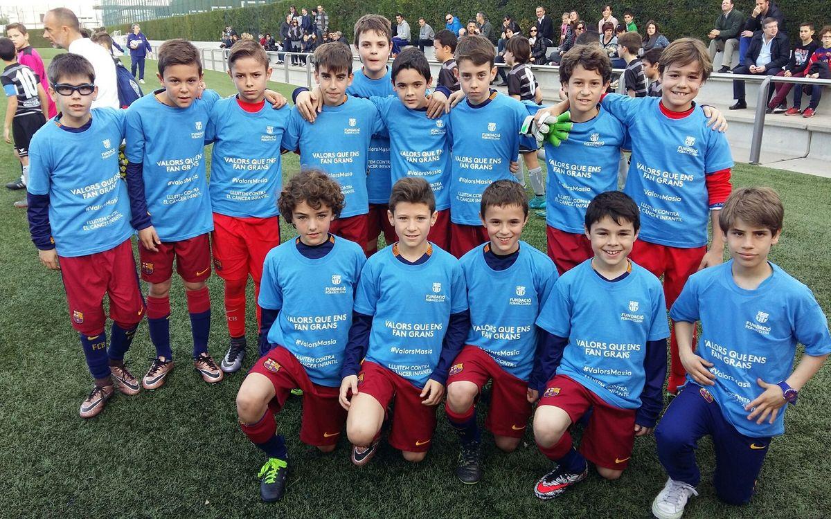 L'esport formatiu del Barça dóna suport a la lluita contra el càncer infantil