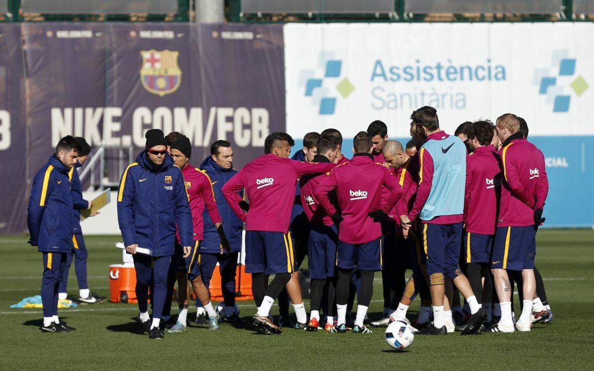 Squad announced for the Copa del Rey first leg at Athletic Bilbao