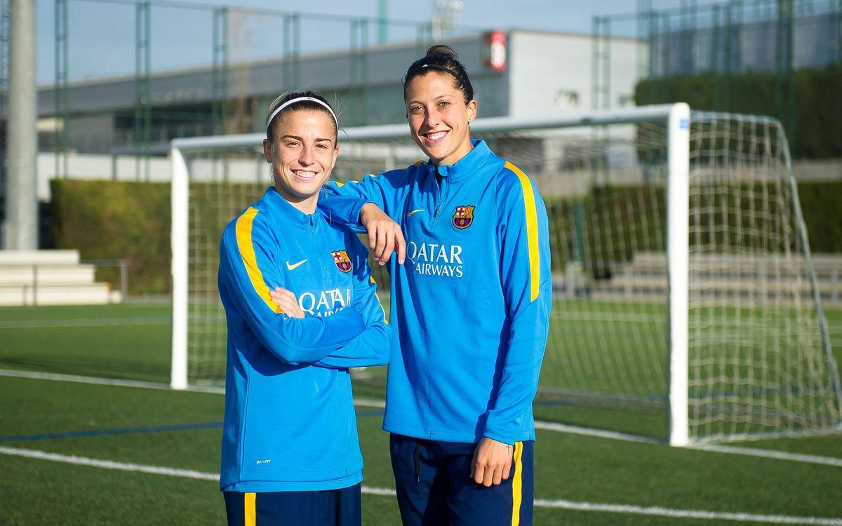 Jennifer Hermoso i Bárbara Latorre: el pitxitxi més culer