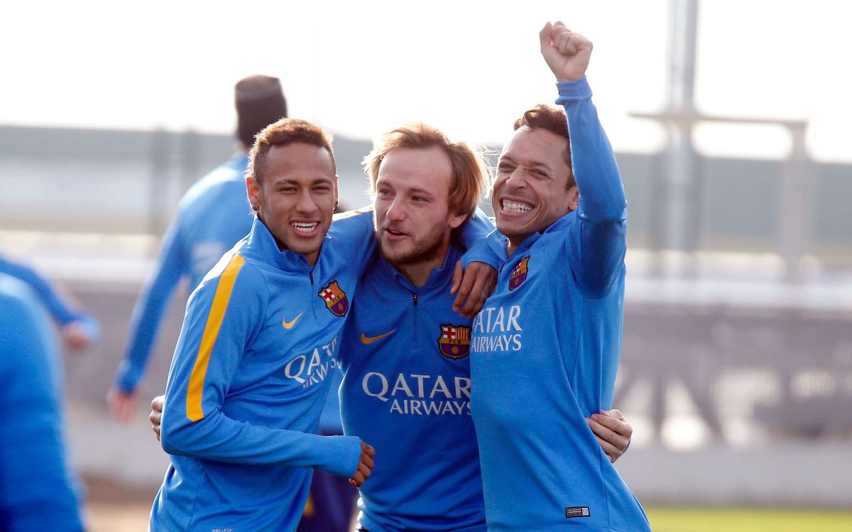 Last training session of the year at FC Barcelona