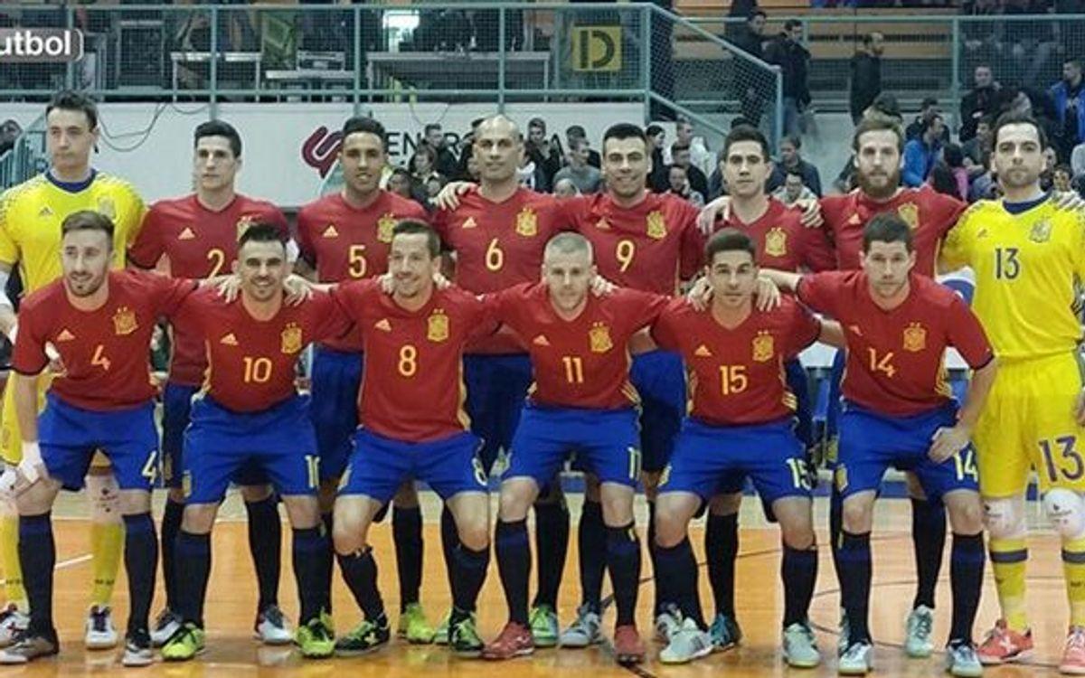 España, obligada a remontar el 1-0