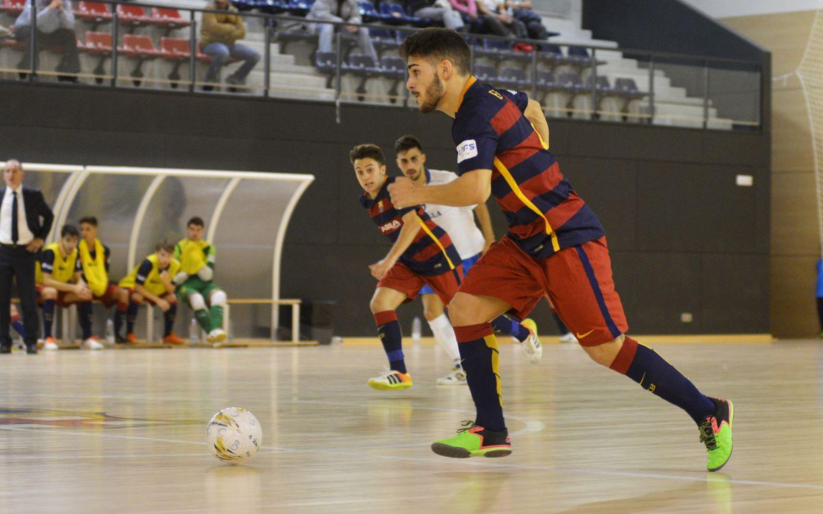 FC Barcelona Lassa B – Melilla FS (2-1): Segueixen segons
