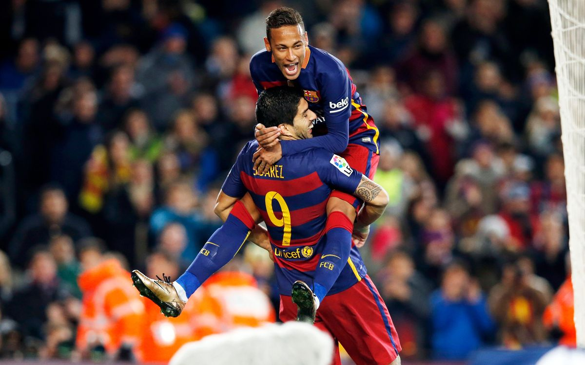 Suárez hat-trick paces FC Barcelona in 6–0 rout of Athletic Club Bilbao