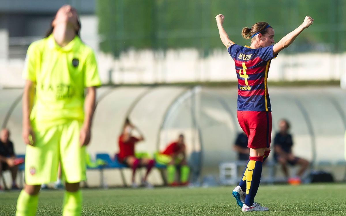Llevant UD – FC Barcelona Femení: La clau per a la Lliga