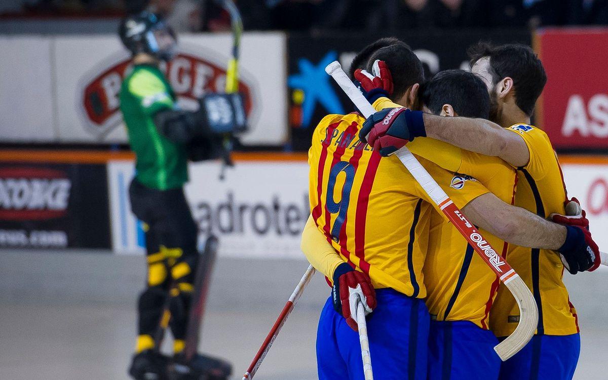 FC Barcelona Lassa win at Reus Deportiu, 6–2