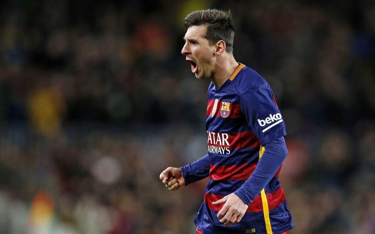 FC Barcelona – RCD Espanyol: Messi lidera una remontada real (4-1)