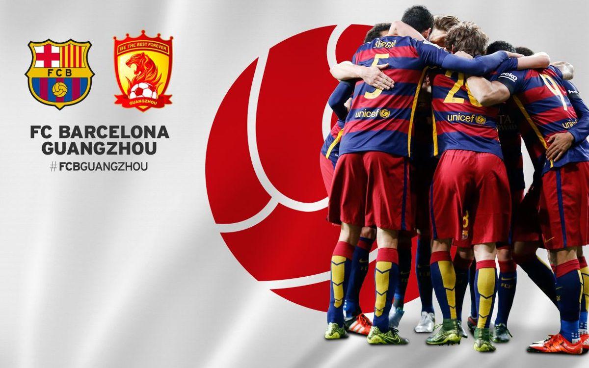 FC Barcelona - Guangzhou Evergrande: La hora del reto asiático
