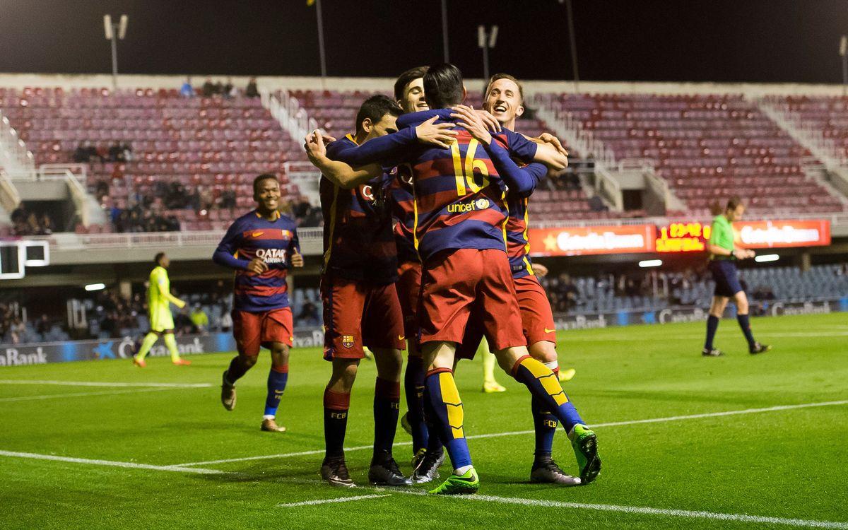 Barça B - Vila-real B: El líder visita un Mini que vol ser un fortí