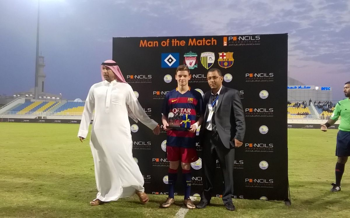 Under 16s beat Al Dhafra 4–1 for a spot in the final of the Abu Dhabi tournament