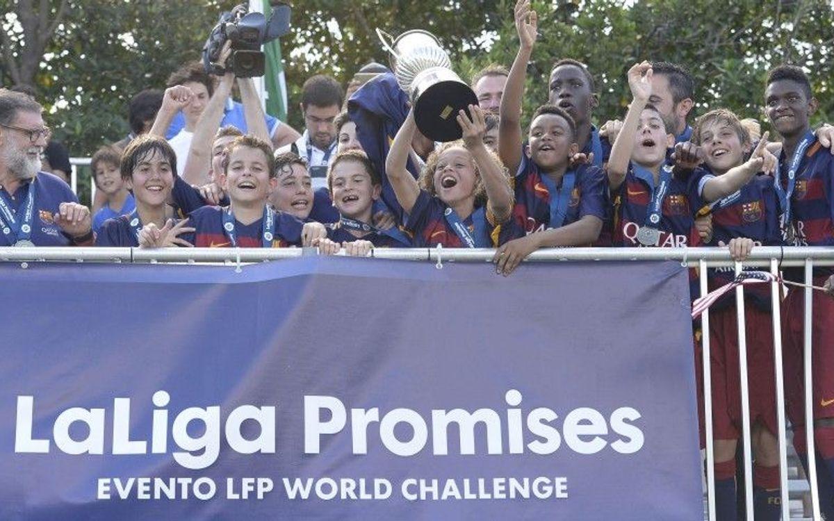 El Infantil B se proclama campeón del torneo Laliga Promises