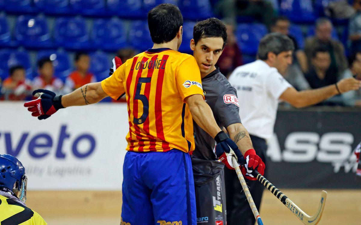 Hockey Breganze - FC Barcelona Lassa: En juego una plaza para los cuartos de final