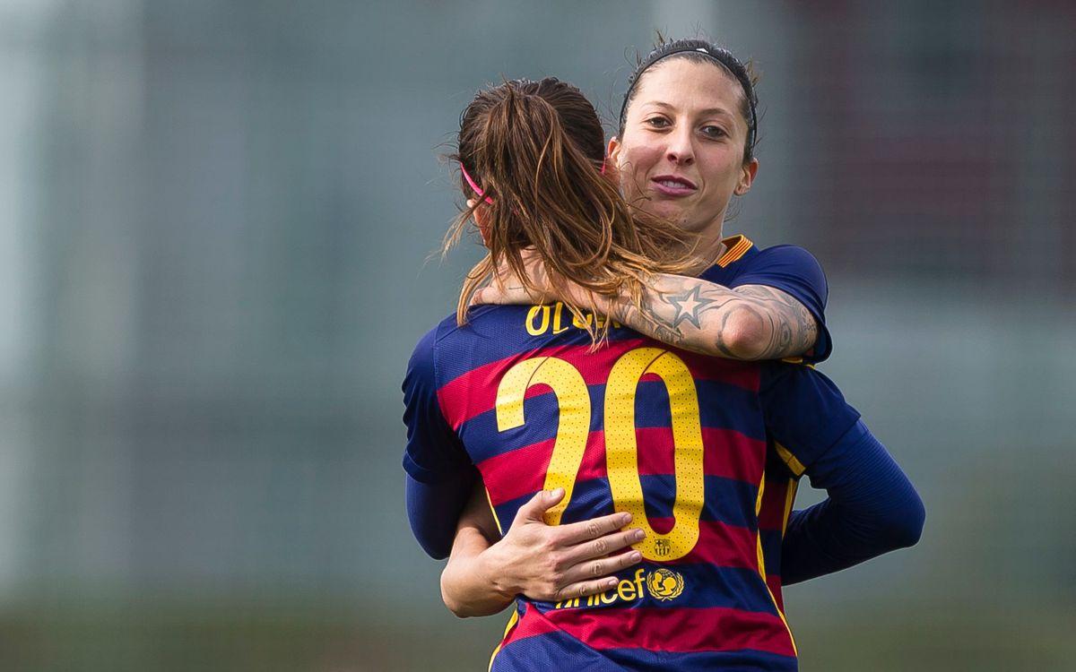Las estadísticas individuales de la primera vuelta del Barça Femenino
