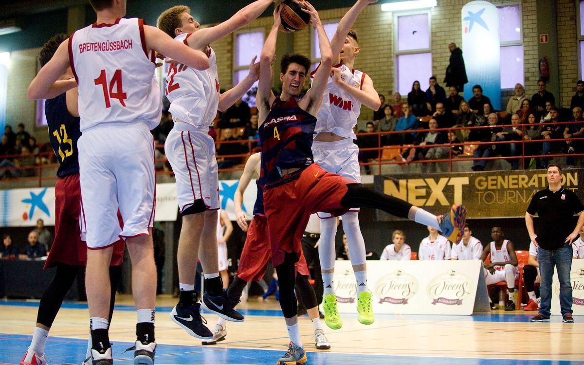 El júnior, classificat per a les semifinals com a primer de grup a l'Hospitalet