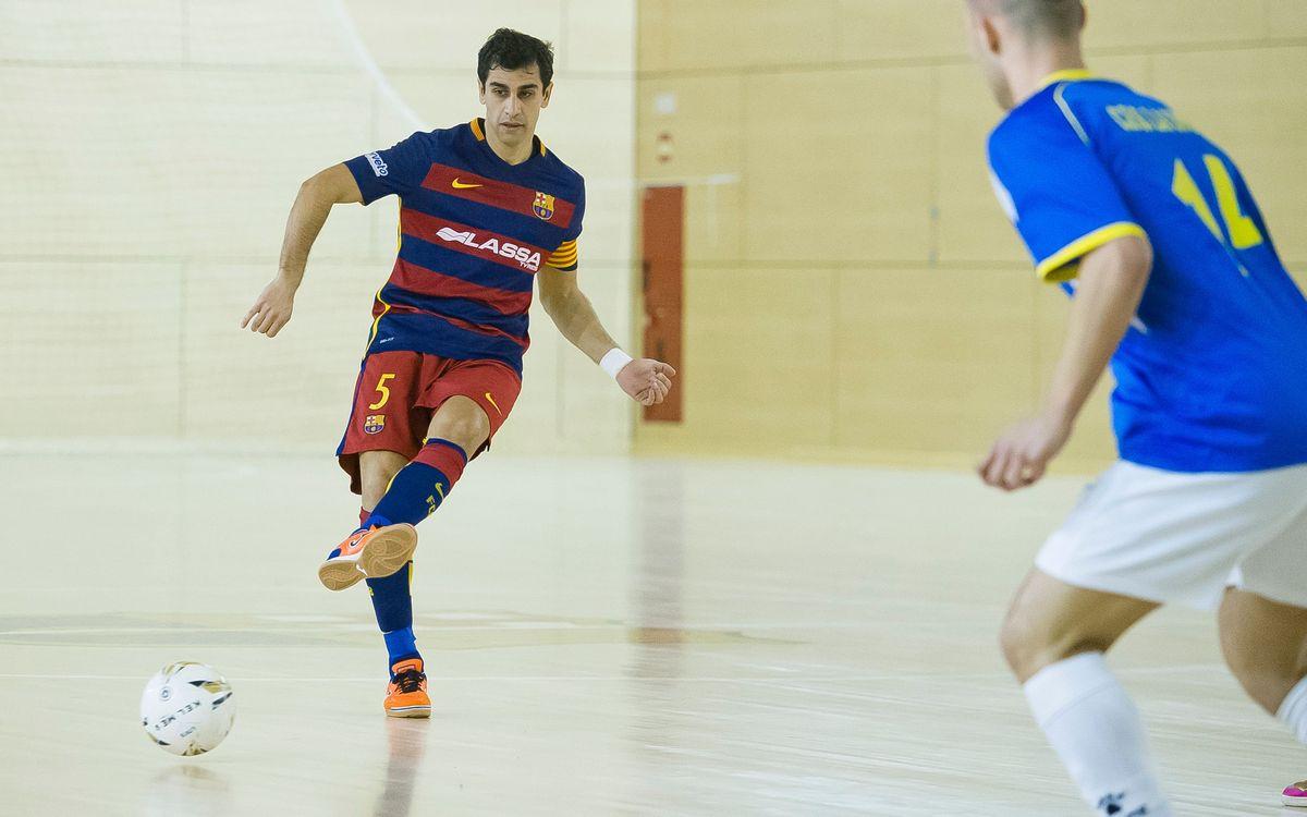 FC Barcelona Lassa, 1 – CFS La Union, 1. Empat a un a la Ciutat Esportiva