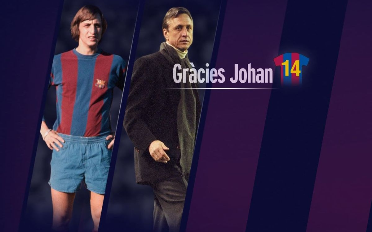 Letter from the presidents of FC Barcelona to Johan Cruyff