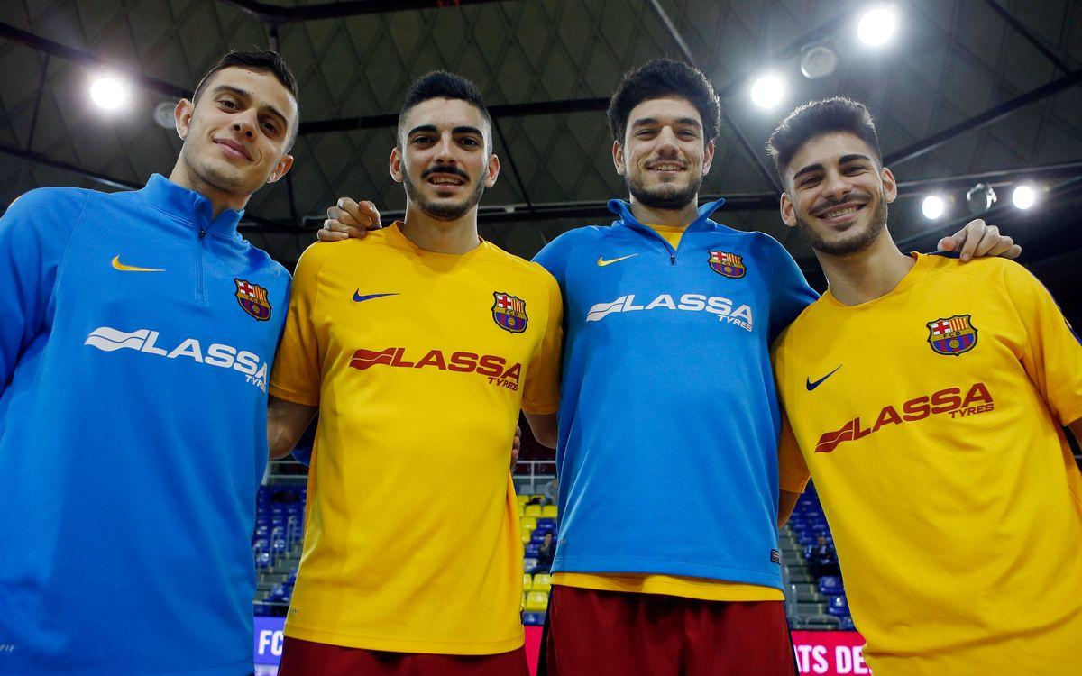 La cantera cada vez más presente en el Barça Lassa